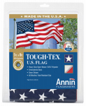 Annin Flagmakers 182008 Tough Texture or Textured or Texas U.S. Flag, 2-Ply Polyester, 5 x 8-Ft.