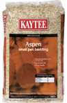Kaytee Pet 100032000 Rabbit & Hamster Bedding, Aspen Shavings, 1,200-Cu. In.