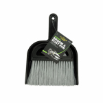 Tiger Accessory Group 4B320 Broom & Dust Pan, 6 x 7-In.