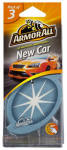 Armored Auto Group Sales 17796 Car Air Freshener, Card, New Car Scent, 3-Pk.