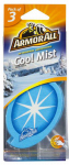 Armored Auto Group Sales 17792 Car Air Freshener, Card, Cool Mist Scent, 3-Pk.