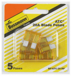 Cooper Bussmann BP-ATC-20-RP 5PK 20A Yellow Auto Fuse