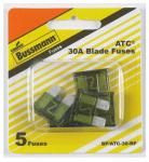 Cooper Bussmann BP-ATC-30-RP 5PK 30A GRN Auto Fuse