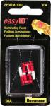 Cooper Bussmann BP-ATM-10ID Red Mini Auto Fuse, 10A, 2-Pk.
