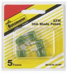 Cooper Bussmann BP-ATM-30-RP 5PK 30A GRN Auto Fuse