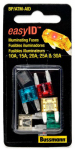Cooper Bussmann BP-ATM-AID Fast-Acting Mini Blade Fuse Assortment, 5-Pc.