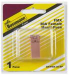 Cooper Bussmann BP-FMX-30-RP Female Maxi Auto Fuse, Pink, 30A