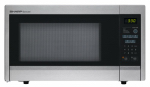 Almo Distributing Wisconsin SMC1132CS Microwave Oven, 11-1/4-In. Turntable, Stainless Steel, 1.1-Cu. Ft.