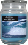 Candle Lite 3297128 Scented Candle Jar,  18-oz.,  Ocean Blue Mist Wax