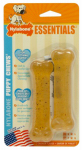 Nylabone Products N101TPW Puppy Teething Chew, 2-Pk.