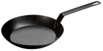 Lodge Mfg CRS12 Carbon Steel Skillet, Pre-Seasoned, 12-In.