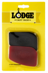 Lodge Mfg SCRAPERPK Pan Scraper, Polycarbonate, 2-Pk.