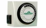 Hydrofarm TM01015D Water Gardening Timer, Dual Outlet, Analog