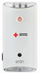 Eton ARCBB200W SNG American Red Cross LED Emergency Flashlight, Wall Outlet Charge