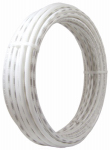 Sharkbite/Cash Acme U850W50 PEX Coil Pipe, White, 1/4-In. Copper Tube Size x 50-Ft.