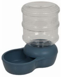 Petmate 24570 LeBistro Pet Waterer, Peacock Blue, 2-3/4-Gals.