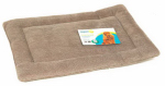 Petmate 26559 Dog Kennel Mat, Tan, 70-90-Lbs.