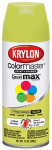 Krylon Diversified Brands K05357002 Colormaster Spray Paint, Indoor/Outdoor Use, Gloss Citrus Green, 12-oz.
