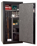 Liberty Safe & Security Prod CN24-BKTFE Revolution Gun Safe, Stores 24 Long Guns, Electronic Lock