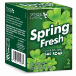 Delta Brands & Products 92078-1 Personal Care Deodorant Soap – Spring Fresh