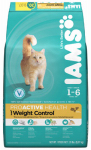 American Distribution & Mfg 71230 ProActive Health Cat Food, Weight Control, 16-Lb. Bag
