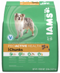 American Distribution & Mfg 61114 ProActive Dog Food, Chunks, 29.1-Lbs.