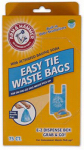 Petmate 71041 Dog Waste Bags, With Dispenser, 75-Ct.