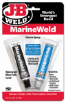 J-B Weld 8272 MarineWeld Epoxy Adhesive, 1-oz., 2-Pack
