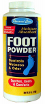 Personal Care Products 90309-8 6 oz. Moisture Absorbent Foot Powder