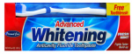 Personal Care Products 92238-9 Personal Care 6.4 oz. Advanced Whitening Anti-cavity Fluoride Toothpaste - Fresh Mint plus a FREE soft toothbrush