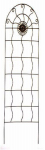 Panacea Products Corp-Import 84442 Garden Trellis, Aztec, Rust Steel, 72 x 24-In.