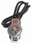 Uriah Products UA417200 Single-Pole Toggle Switch, 10A
