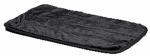 Midwest Metal Products 40424-BK Pet Mat, Black Synthetic Fur, 24-In.