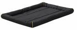 Midwest Metal Products 40548-BK Maxx Pet Bed, Water Resistant, Black Polyester, 48-In.
