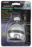 Whedon Products EP24C Massage Showerhead, Fixed Mount, Chrome