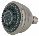 Whedon Products FP78C Massage Showerhead, Fixed Mount, Brushed Nickel