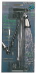 Whedon Products SRW1C Swing Shower Arm Extension, Chrome-Plated Brass, 9-In.