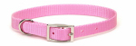 Coastal Pet Products 00601 B PKB16 Dog Collar, Pink Nylon, 3/4 x 16-In.