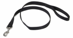 Coastal Pet Products 00606 B BLK06 Dog Leash, Black Nylon, 3/4-In. x 6-Ft.