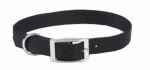 Coastal Pet Products 00901 B BLK20 Dog Collar, Black Nylon, 1 x 20-In.