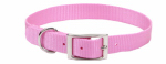 Coastal Pet Products 00901 B PKB20 Dog Collar, Pink Nylon, 1 x 20-In.