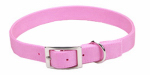 Coastal Pet Products 02901 B PKB24 Dog Collar, 2-Ply, Pink Nylon, 1 x 24-In.