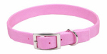 Coastal Pet Products 02901 B PKB26 Dog Collar, 2-Ply, Pink Nylon, 1 x 26-In.