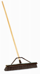 Cequent Consumer Products 1434ASQ Sweeping Push Broom, Medium Bristles, Indoor/Outdoor, 24-In.