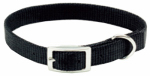 Coastal Pet Products 00601 B BLK16 Dog Collar, Black Nylon, 3/4 x 16-In.