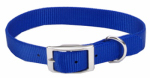 Coastal Pet Products 00601 B BLU16 Dog Collar, Blue Nylon, 3/4 x 16-In.