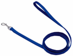 Coastal Pet Products 00606 B BLU06 Dog Leash, Blue Nylon, 3/4-In. x 6-Ft.