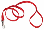 Coastal Pet Products 00606 B RED06 Dog Leash, Red Nylon, 3/4-In. x 6-Ft.