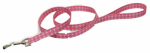 Coastal Pet Products 00366 PDT06 Dog Leash, Dot, Pink Nylon, 3/8-In. x 6-Ft.