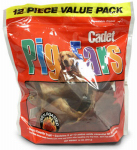 Ims Trading 00867 Dog Treats, Pig Ears, 12-Pk.